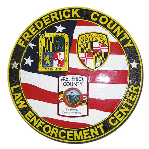 Frederick County Maryland Law Enforcement Center Seal