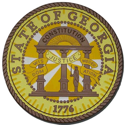 Georgia State Seal Plaque