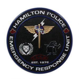 Hamilton Police ERU Seal