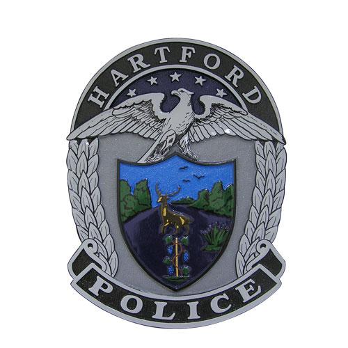 Hartford Police Plaque