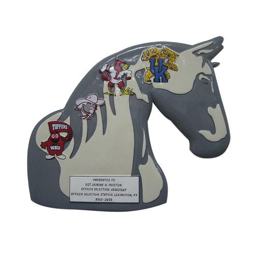 Horse Shape Emblem