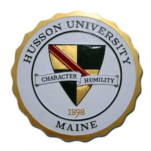 Husson University Maine Seal