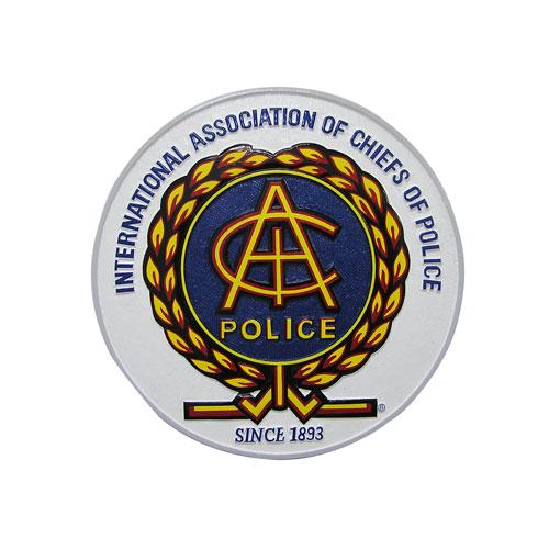 IAC Police Plaque
