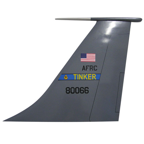 USAF KC-135 Stratotanker Tail Flash Wall Plaque