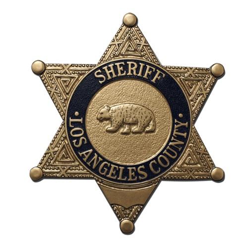 LA County Sheriffs Badge Plaque