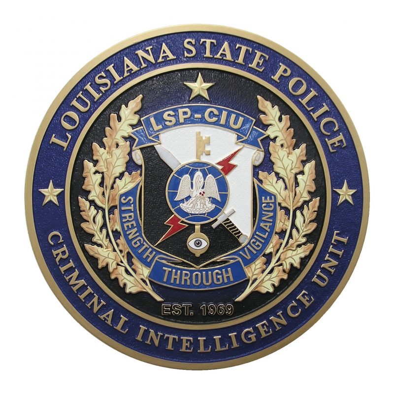 Louisiana State Police Seal