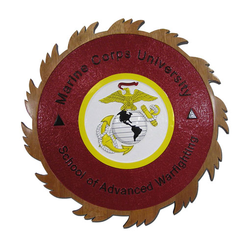 Marine Corps University SAW Seal