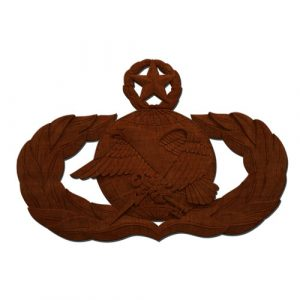 USAF Master Supply and Fuels Badge Insignia Plaque