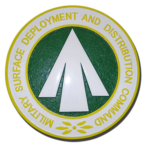 Military Surface Deployment Distribution Command Seal