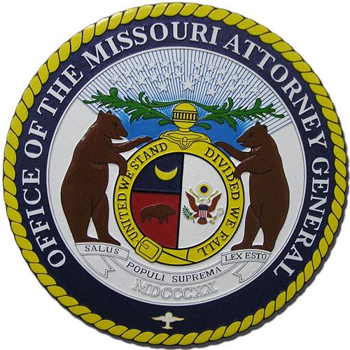 Missouri Attorney General Seal Plaque