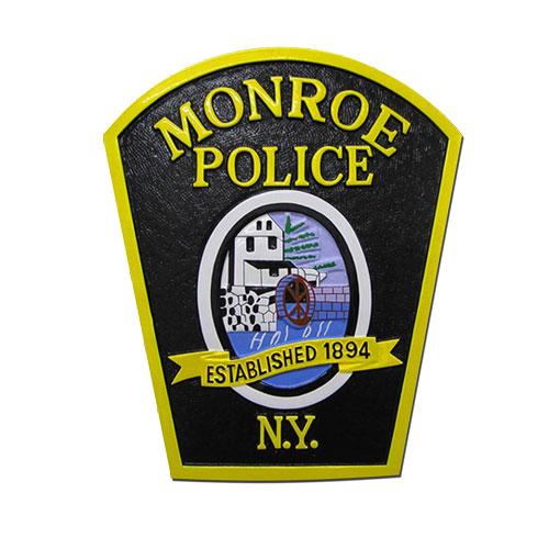 Monroe Police NY Patch Emblem