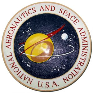 NASA Seal Original 1959 Design Plaque
