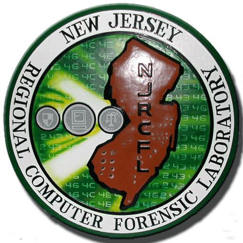 NJ Regional Computer Forensic Laboratory Seal