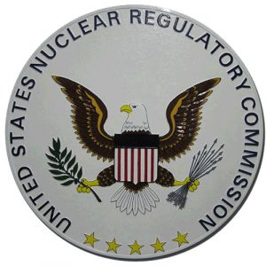 Nuclear Regulatory Commission NRC Seal