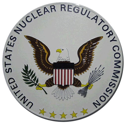 Nuclear Regulatory Commission NRC Seal