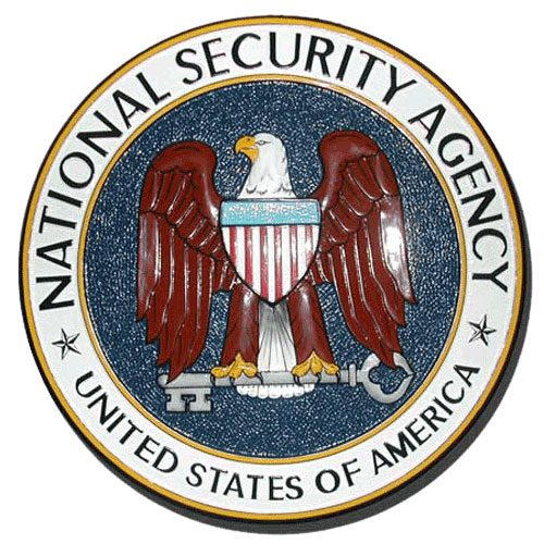 The National Security Agency NSA Seal / Podium Plaque