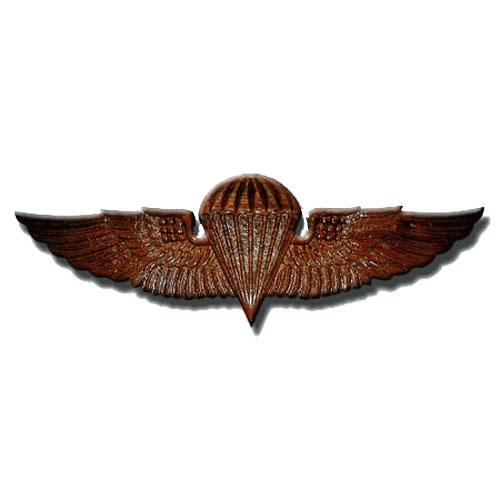 Naval Parachutist Badge Jump Wings Plaque