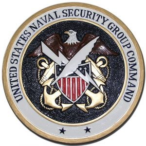 U.S. Naval Security Group Command Seal Plaque