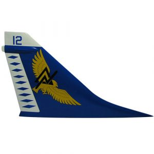 U.S. Navy A-7 Tail Flash Wall Plaque