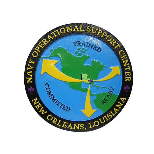Navy Operational Support Center Seal