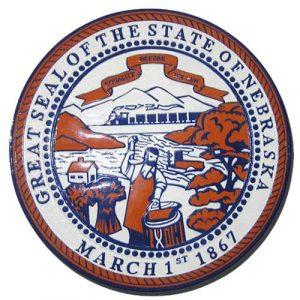 Nebraska State Seal Plaque
