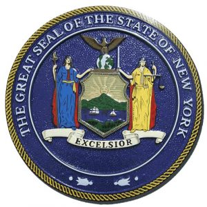 New York State Seal Plaque