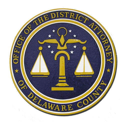 Office of the District Attorney Delaware County Seal