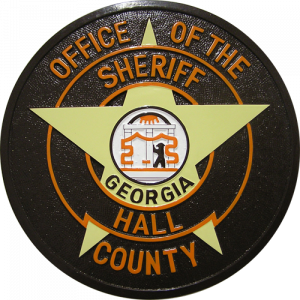 Office of the Sheriff Hall County Seal