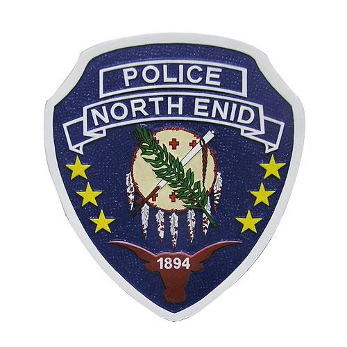 Oklahoma North Enid Police Emblem