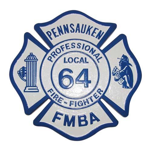 Pennsauken Local 64 FMBA Emblem