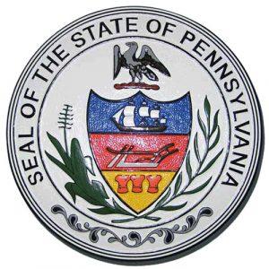 Pennsylvania State Seal Plaque
