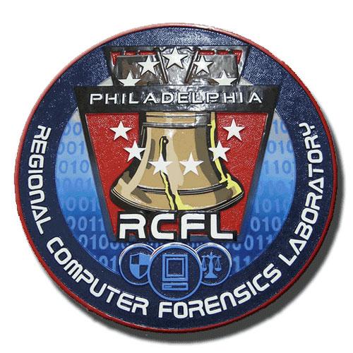 Regional Computer Forensic Laboratory Philadelphia Seal