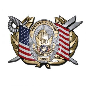 Reserve Division Phoenix Police Emblem