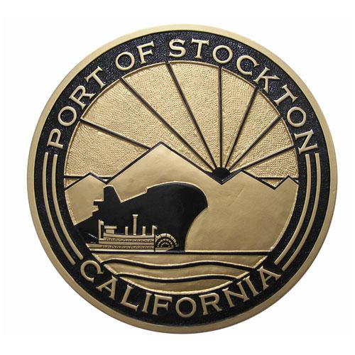 Port of Stockton California Seal
