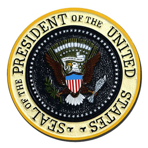Presidential Seal Wall - Podium Plaque
