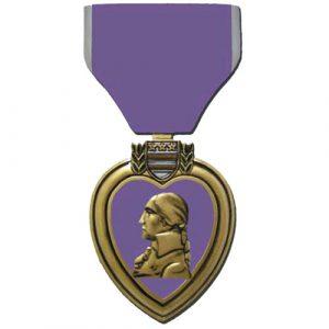 Purple Heart Plaque