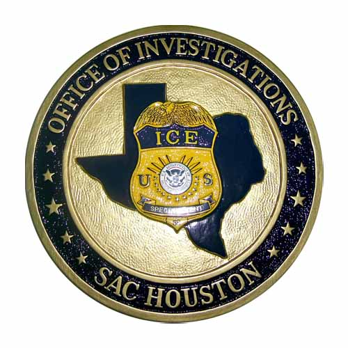 SAC-Houston Office of Investigations Seal