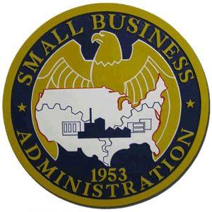 U.S. Small Business Administration SBA Seal / Podium Plaque