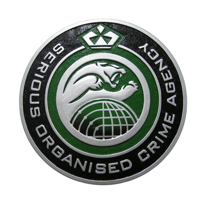 Serious Organized Crime Agency Seal