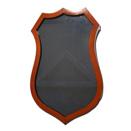 Shield Shape Shadow Box Model 2