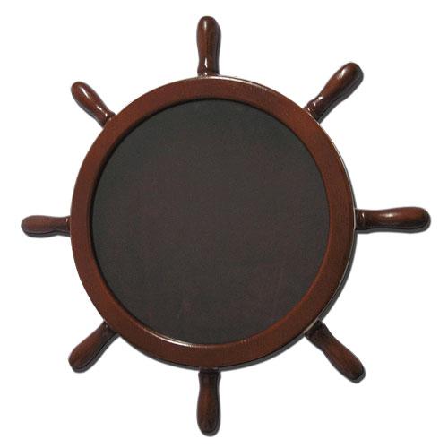 Ships Wheel Shadow Box