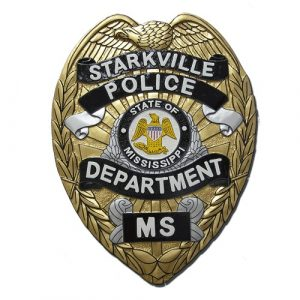 Starkville MS Police Department Badge Plaque