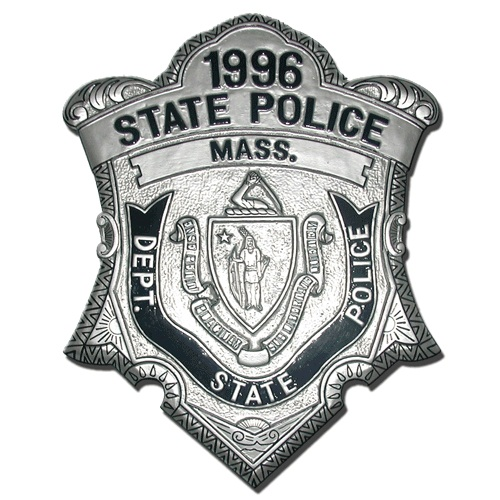 State Police Mass Badge Plaque