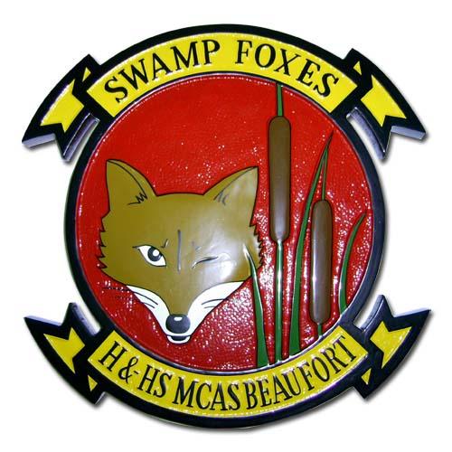 MCAS Beaufort Swamp Foxes Emblem