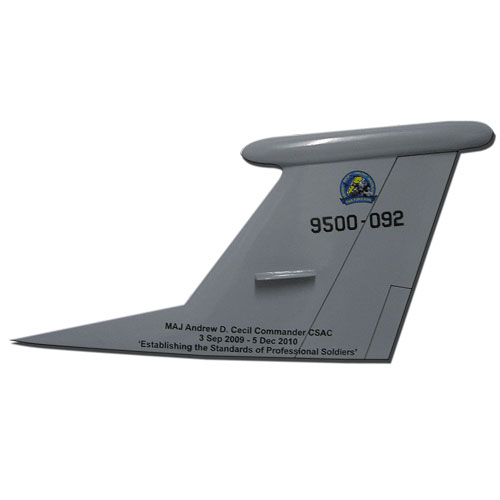 USAF TF-950-092 Tail Flash Wall Plaque