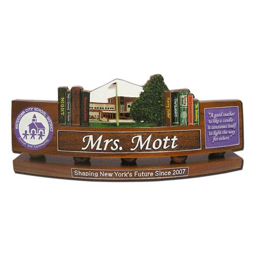 DOD Teachers Desk Nameplate Model 3