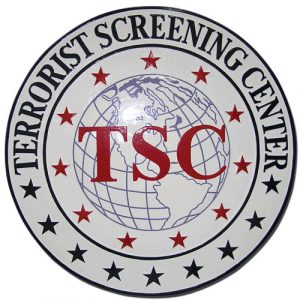 Terrorist Screening Center Seal