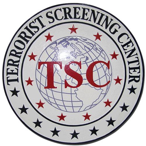 Terrorist Screening Center Seal