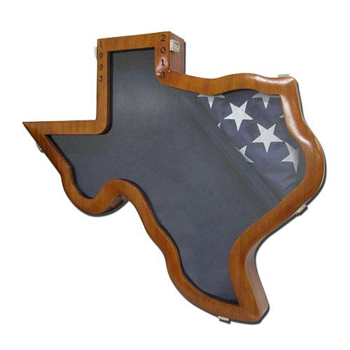 Texas Shape Shadow Box