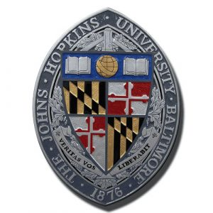 The John Hopkins University Baltimore Emblem